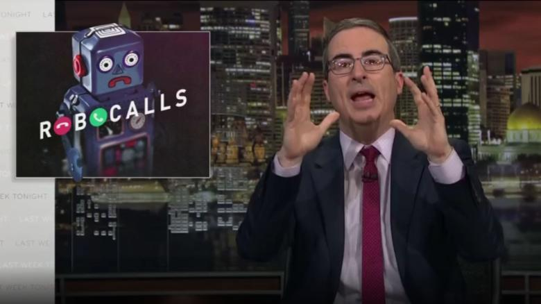 Why John Oliver is spamming the FCC with robocalls