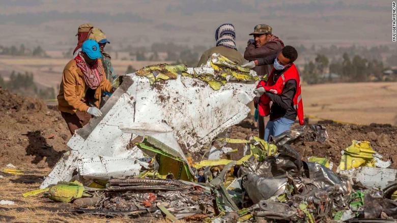 Flight recorders found at Ethiopian Airlines crash site