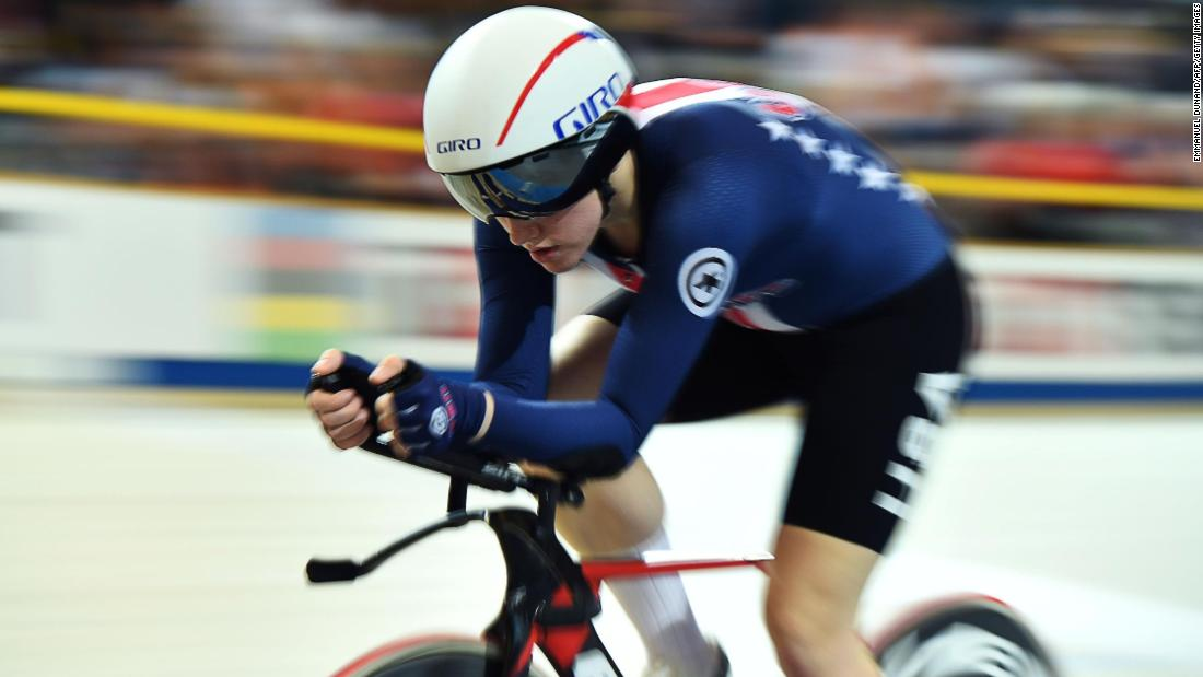 Olympic cyclist Kelly Catlin dies at 23