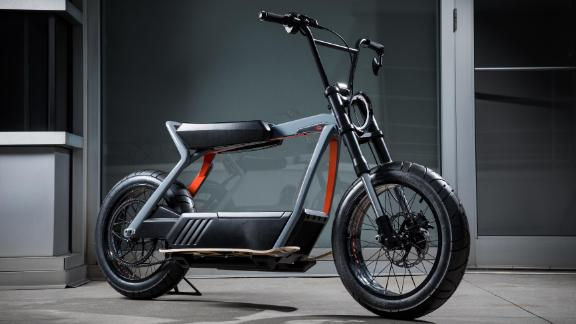 Harley-Davidson released a concept of an electric bicycle earlier this year.