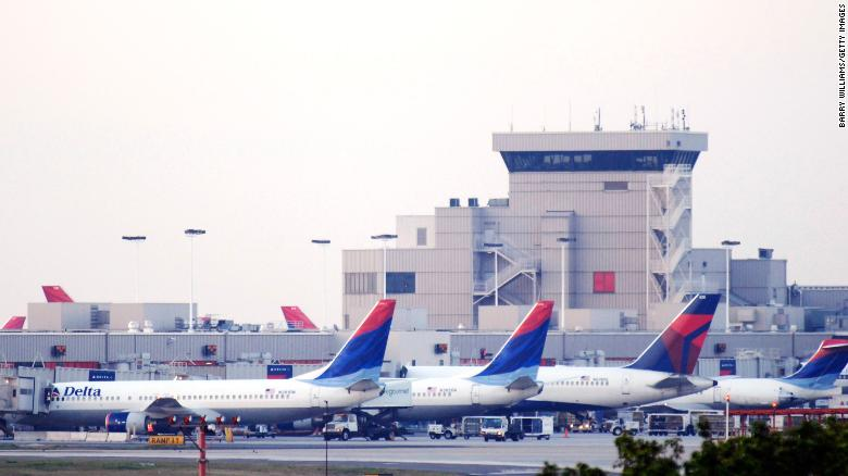 A federal officer was arrested at Atlanta's Hartsfield-Jackson International Airport.