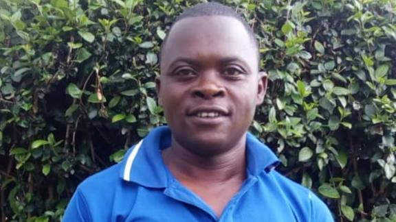 Anselme Mutuyimana was found dead by locals after going to visit his father and sister in the northwest of the country.