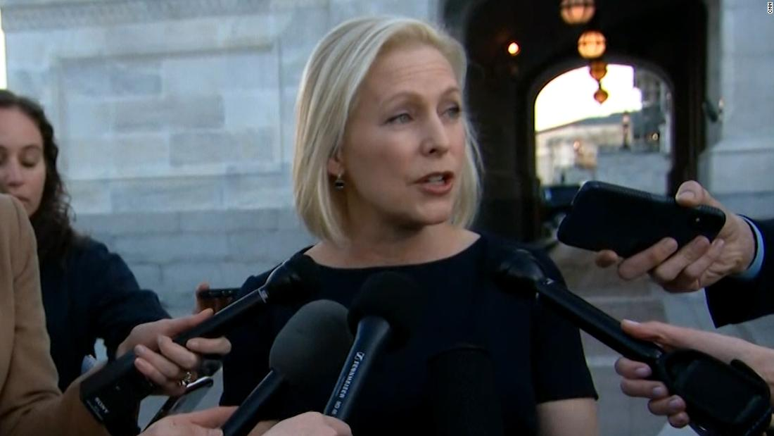 Gillibrand defends handling of sexual harassment claims