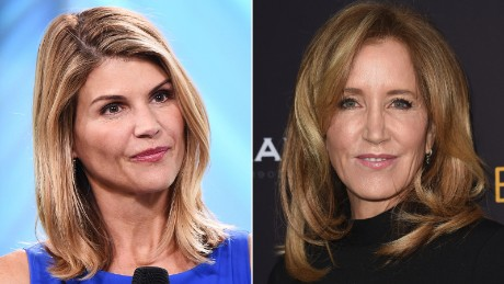 Felicity Huffman and Lori Loughlin among dozens charged in alleged college cheating scam