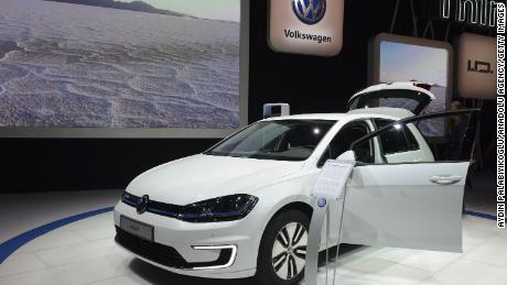 Volkswagen relies on electric vehicles