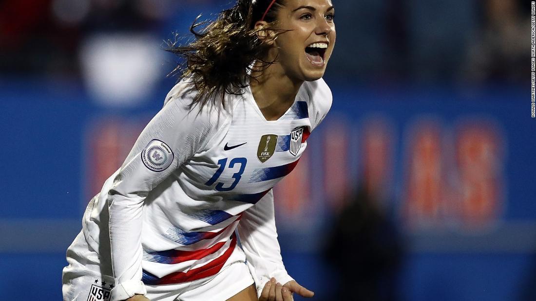 b6111415d Megan Rapinoe and Alex Morgan confident of winning lawsuit against US Soccer  - CNN