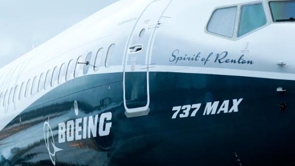 FILE - In this Tuesday, Dec. 8, 2015, file photo, the first Boeing 737 MAX airplane to roll off Boeing