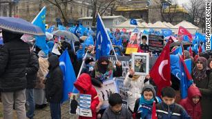 Uyghurs plead for answers about family in China