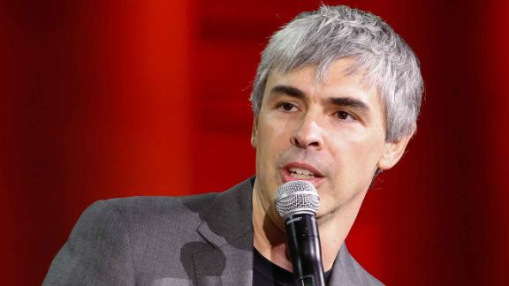 SAN FRANCISCO, CA - NOVEMBER 02: Larry Page speaks during the Fortune Global Forum at the Legion Of Honor on November 2, 2015 in San Francisco, California.  (Photo by Kimberly White/Getty Images for Fortune)