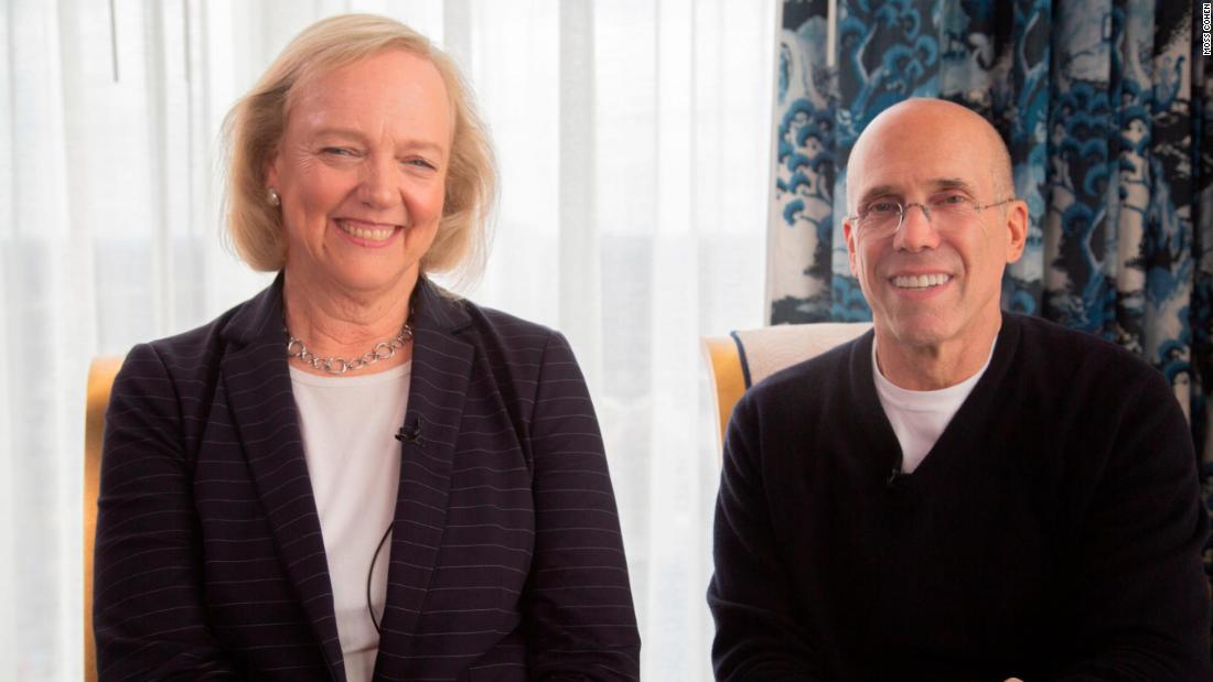 Meg Whitman and Jeffrey Katzenberg are betting big on the small screen
