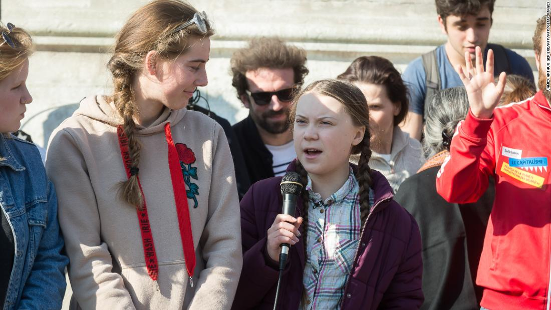 Global Climate Strike: Students inspired by Greta Thunberg skip school to protest climate change