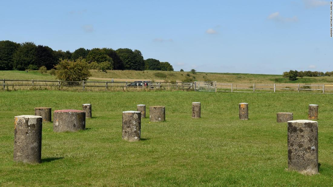 Durrington Walls is a Late Neolithic henge site in Wiltshire. Pig bones recovered at the site revealed that people and livestock traveled hundreds of miles for feasting and celebration.