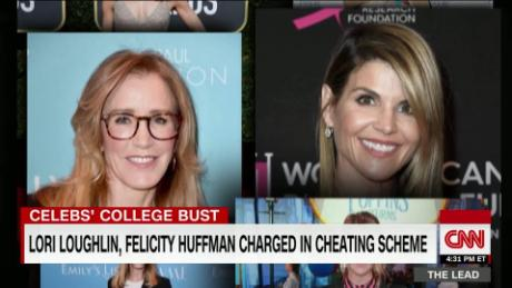 Actresses Lori Loughlin, Felicity Huffman charged in college cheating scheme