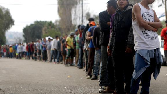 TIJUANA, MEXICO - NOVEMBER 24: Members of the