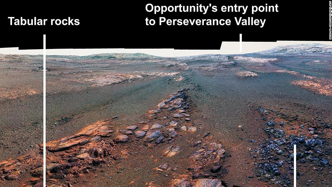 This Is The Opportunity Rover S Final Photo Of Mars Cnn