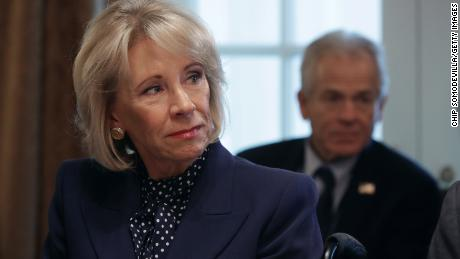 DeVos wants to cut spending on student credit again