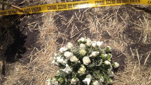 Families mourn loved ones at crash site of Ethiopian plane crash