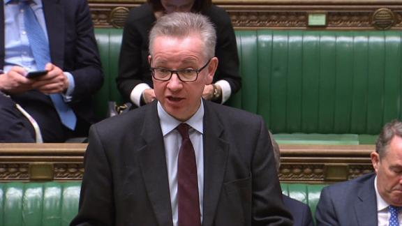 British cabinet minister Michael Gove reportedly admitted to using cocaine.