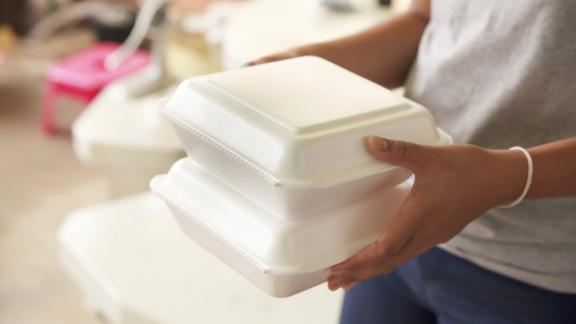 Hawaii is considering banning most plastic containers in restaurants.