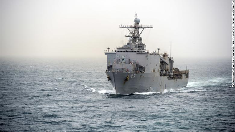 US warship quarantined at sea due to virus outbreak