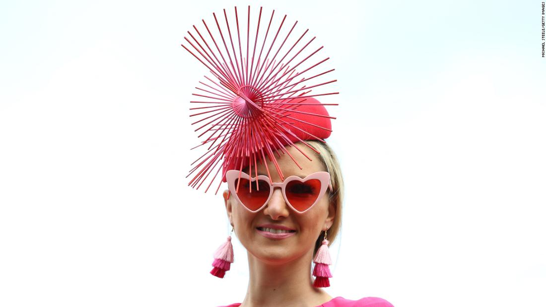 Ladies Day brings out the finery to light up Cheltenham's Prestbury Park racecourse.