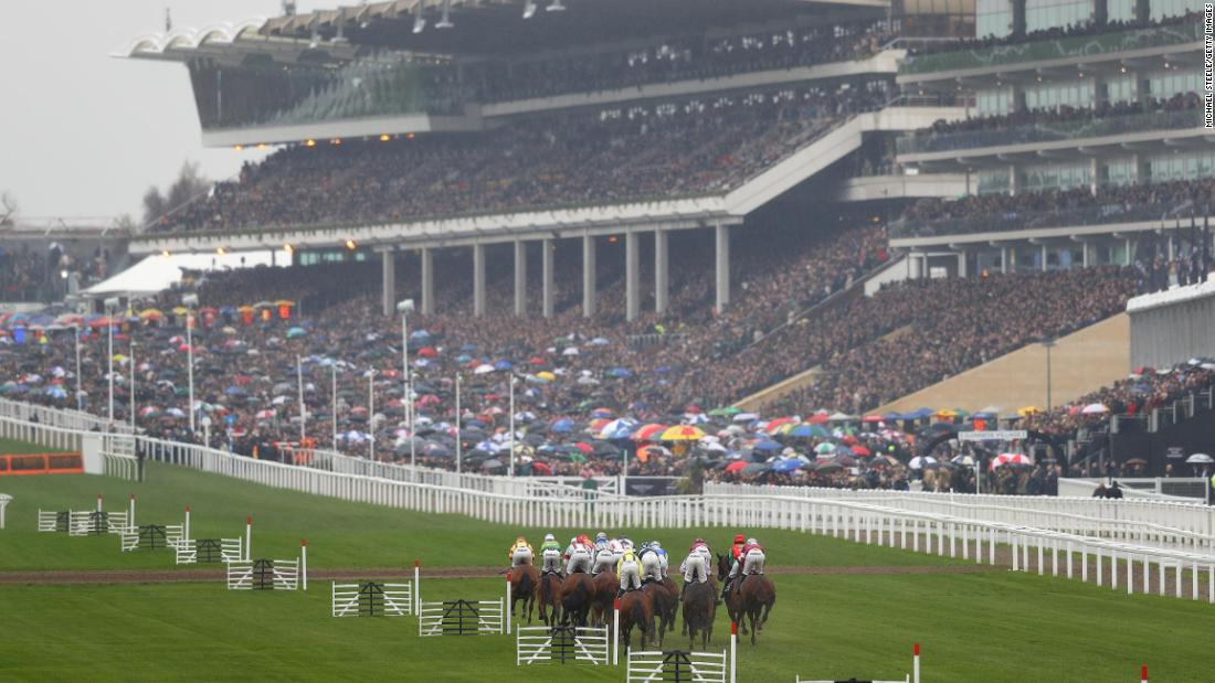 The Cheltenham Festival attracts huge crowds to jump racing's blue riband event in the Cotswolds region of England.