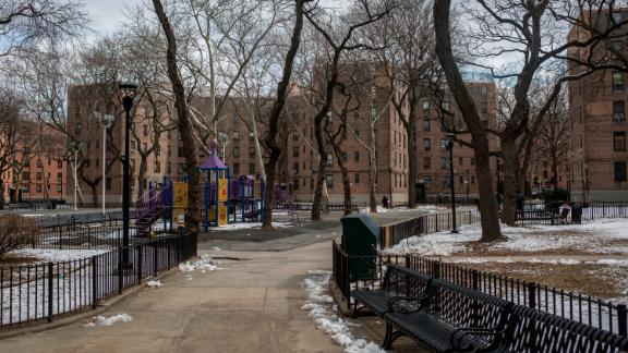 Queensbridge Houses is the  largest public housing complex in the country.