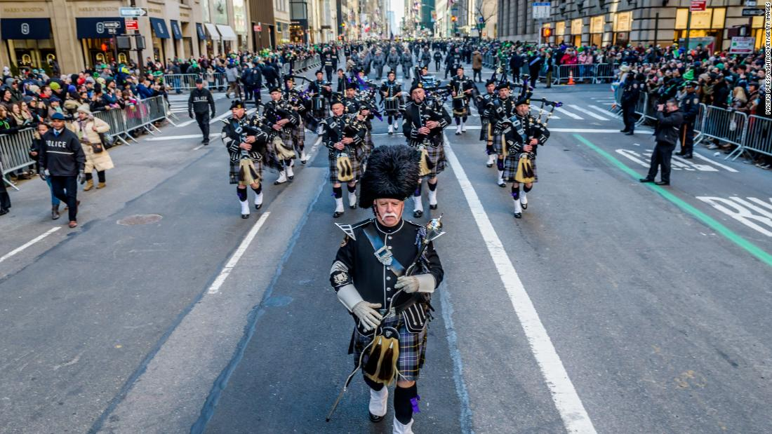<strong>New York:</strong> The St. Patrick's Day Parade is a beloved tradition in this city. The first recorded St. Patrick's parade in New York dates back to 1762.