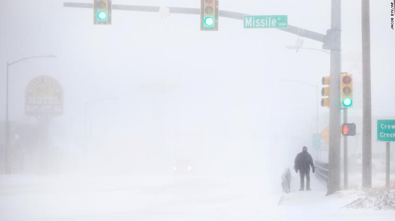 Image result for 'Bomb cyclone' blasts Colorado and leaves hundreds stranded in cars