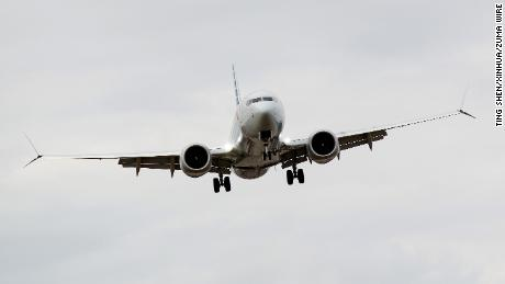 WASHINGTON, March 13, 2019  An American Airlines Boeing 737 Max 8 aircraft from Los Angeles approaches to land at Washington Reagan National Airport in Washington D.C., the United States on March 13, 2019. Ting Shen/Xinhua via ZUMA Wire