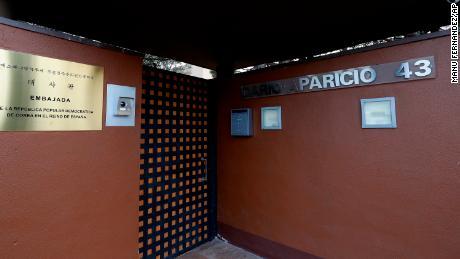North Korea seeks probe into 'terror attack' on Madrid embassy