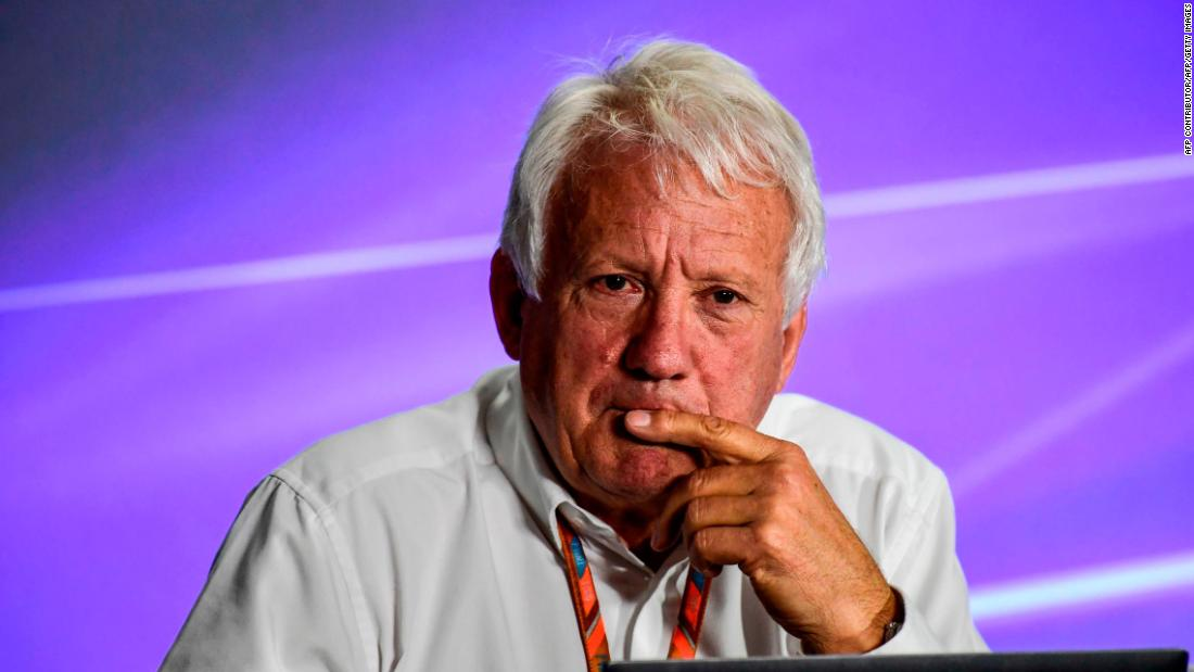 Charlie Whiting Twitter: Charlie Whiting: FIA Formula One Race Director Dies