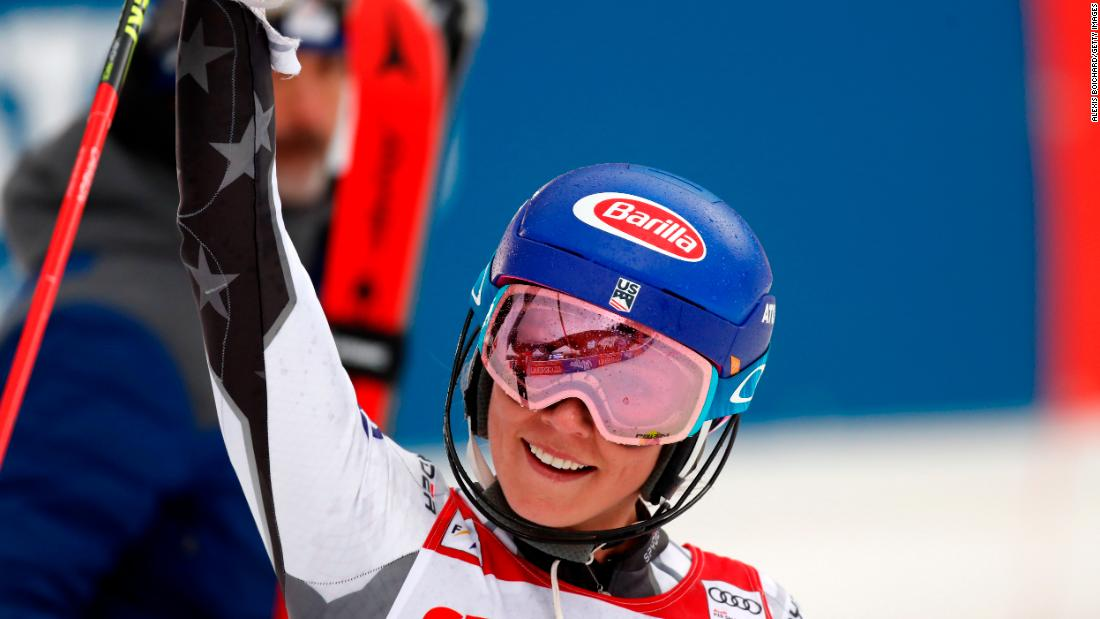 Soon after she pushed the record to 15 wins - unprecedented for men or women -- with a slalom victory (her 58th) in the Czech Republic.