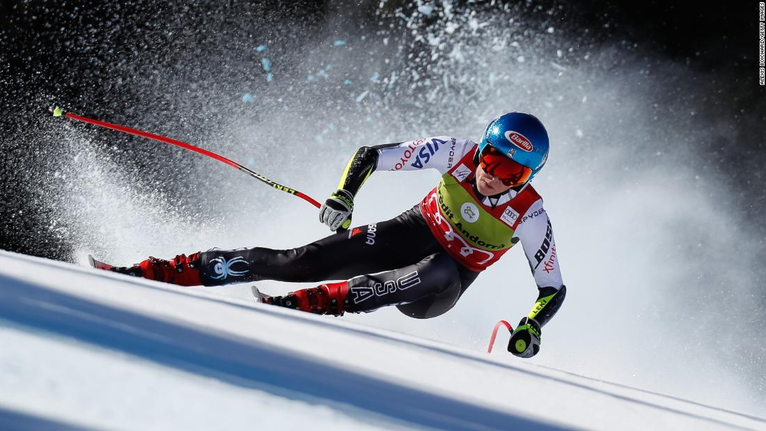 At the World Cup finals in Soldeu, Andorra in March, Shiffrin wrapped up a third Crystal Globe of 2019 with a first season title in the super-G.