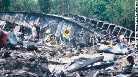 American Airlines Flight 191 -- a DC-10 -- which crashed on takeoff from Chicago's O'Hare International Airport in 1979.
