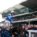 Bryony Frost and Frodon salutes crowd Cheltenham Festival