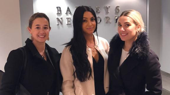 Katherine, Alison and Juliana Ragusa, co-founders of Lab to Beauty.