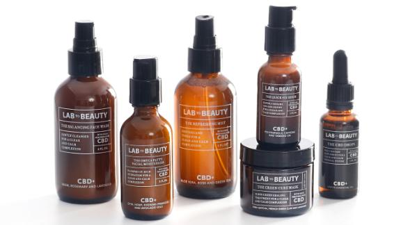 Barneys launched its first-ever CBD skincare line with Lab to Beauty.
