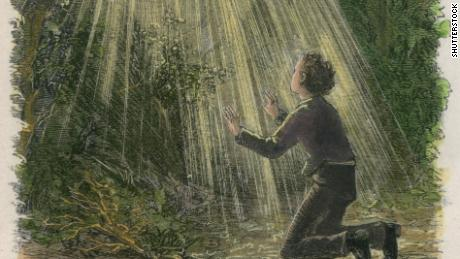Mormonism began after Joseph Smith said he saw God in a vision while praying in a grove of trees.