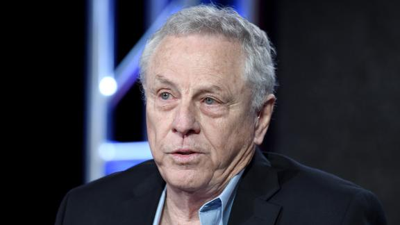 """PASADENA, CA - JANUARY 07:  Founder, Southern Poverty Law Center, Morris Dees of """"Hate in America"""" speaks onstage during the Discovery Communications TCA Winter 2016 at The Langham Huntington Hotel and Spa on January 7, 2016 in Pasadena, California.  (Photo by Amanda Edwards/Getty Images for Discovery Communications)"""
