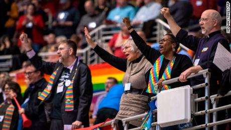 Methodists strengthen stance against gay marriage and openly LGBT clergy