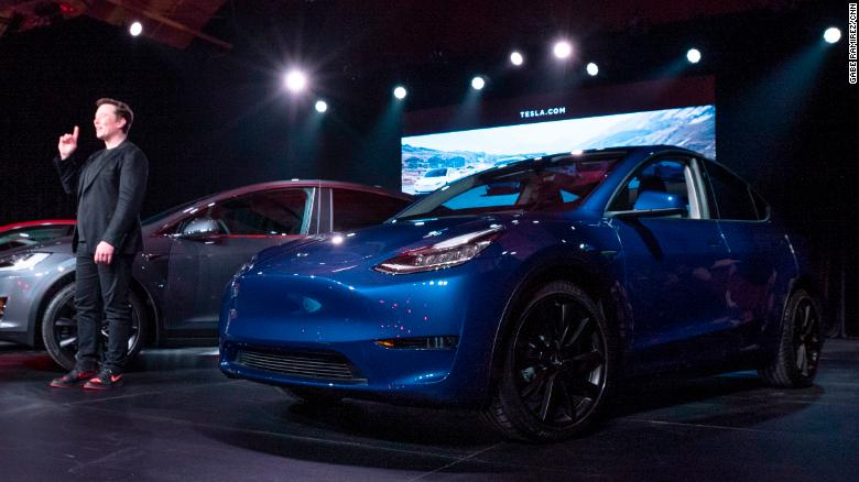 Tesla Model Y Elon Musk S Second Electric Suv Is Here