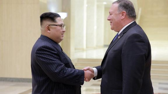 US Secretary of State Mike Pompeo met with Kim Jong Un in Pyongyang for the second time in 6 weeks - and returned with the three freed Americans that were detained in North Korea. The two also discussed details on the upcoming summit between Trump and Kim.