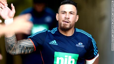 'Heart is hurting': Sonny Bill Williams' tearful tribute to terror attack victims