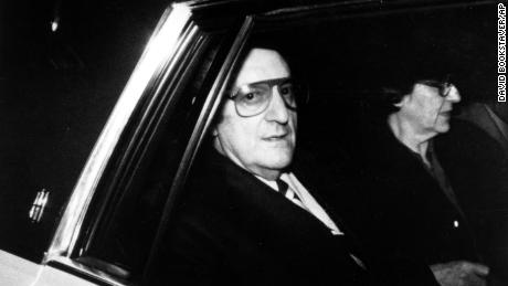 Gambino Don Paul Castellano Leaves Federal Court After Making Bail In New York City On Feb