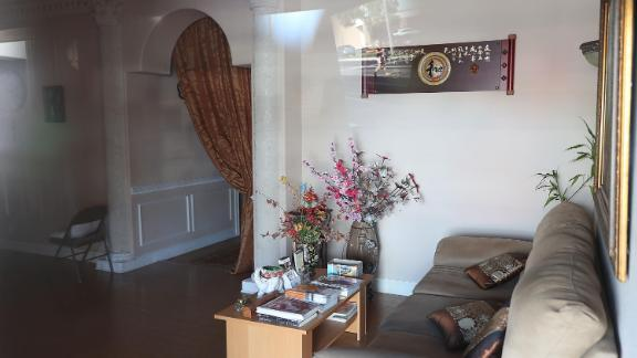 The interior of the Orchids of Asia Day Spa.