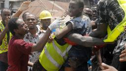 20 people, mostly children, have now died in Lagos building collapse