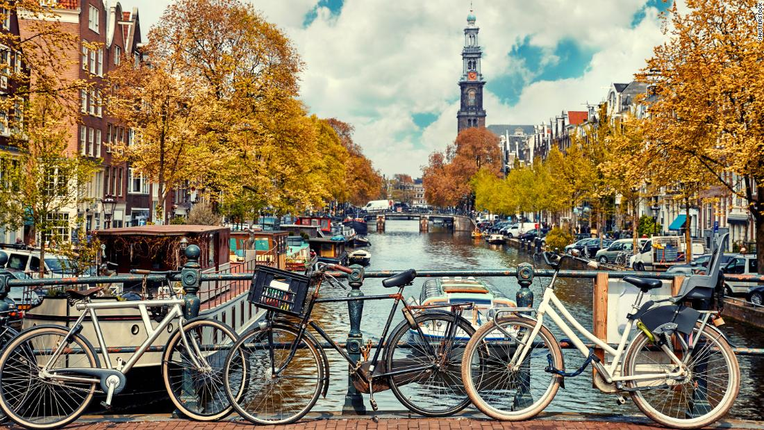 Amsterdam -- city of canals and surprises