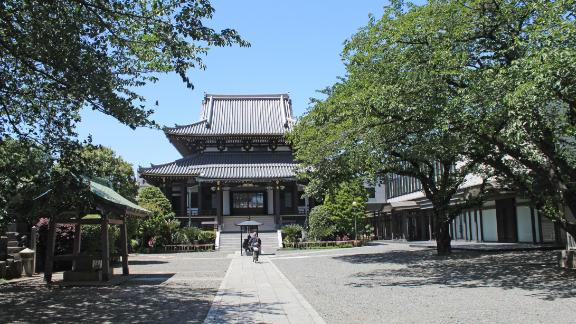 The Buddhist temple of Zenko-ji dates back to the seventh century. Alongside Shinto, today Buddhism is Japan's most practiced religion.