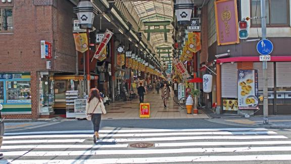 If shopping's your thing, then Osaka is home to Japan's longest indoor shopping street in Tenjinbashi -- 2.6km!